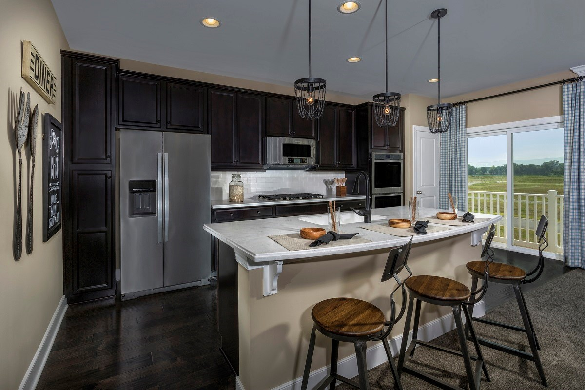 New Homes in Frederick, MD - Eastchurch Upton Kitchen