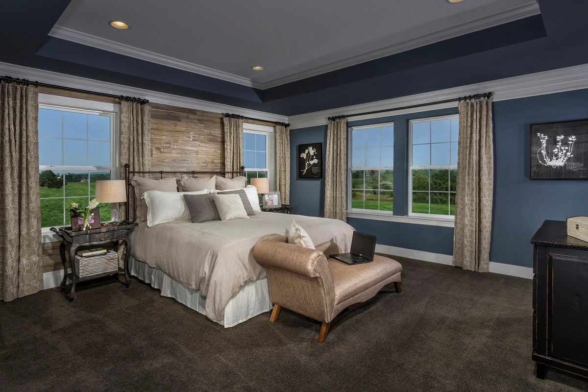 New Homes in Frederick, MD - Eastchurch Upton Owner's Suite