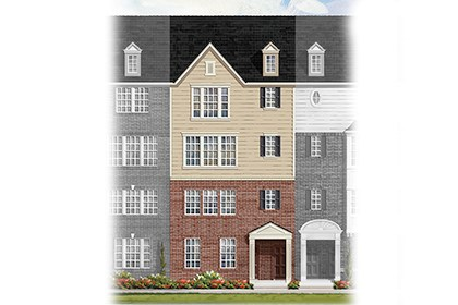 New Homes in Frederick, MD - Elevation B