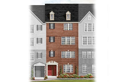 New Homes in Frederick, MD - Elevation C