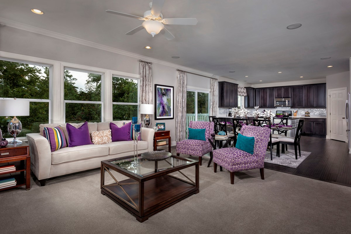 New Homes in Waldorf, MD - Middletown Woods The 2300 Family Room