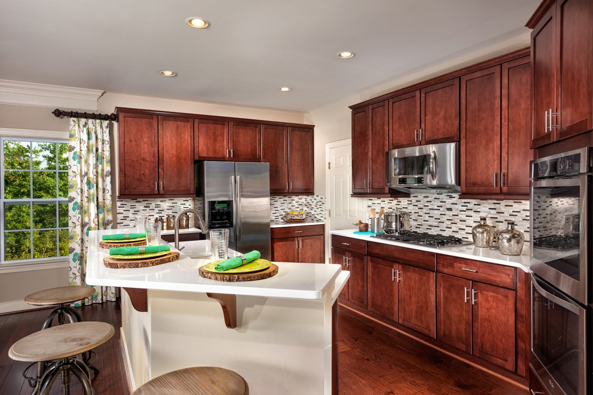 New Homes in Waldorf, MD - Middletown Woods 2740 Kitchen
