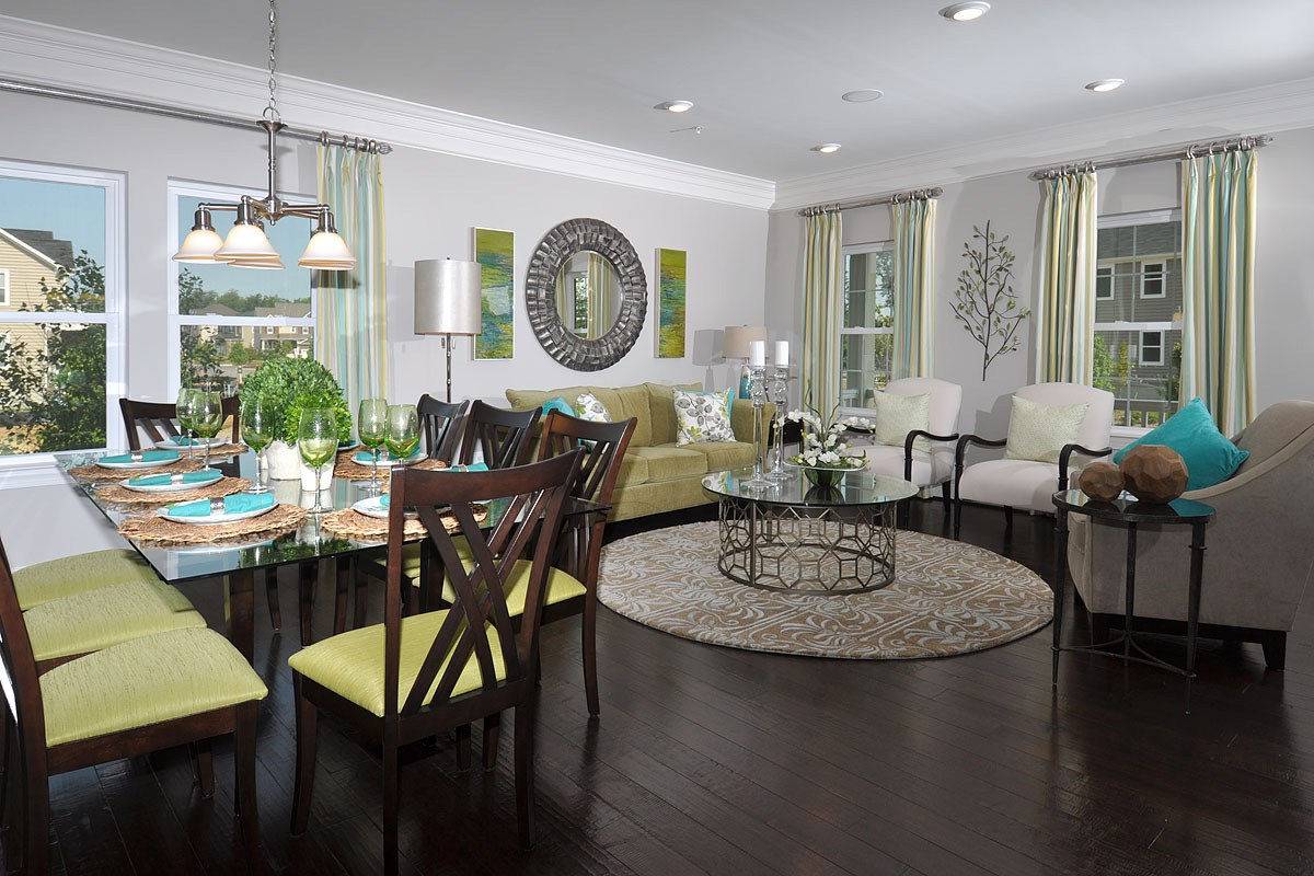 New Homes in Waldorf, MD - Middletown Woods 2980 Living and Dining