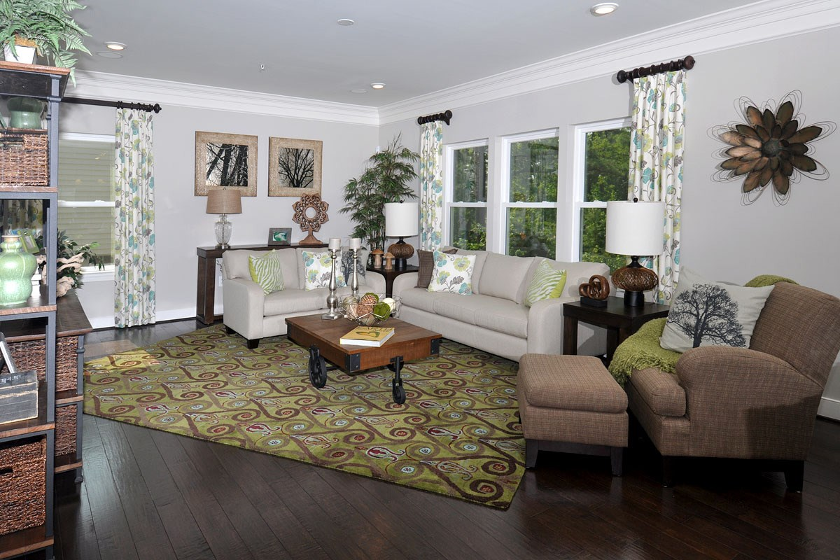 New Homes in Waldorf, MD - Middletown Woods 2980 Family Room