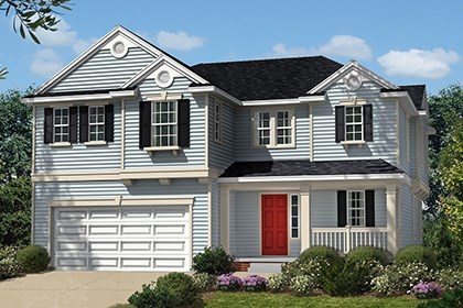 New Homes in Waldorf, MD - Plan 2302 - Elevation B