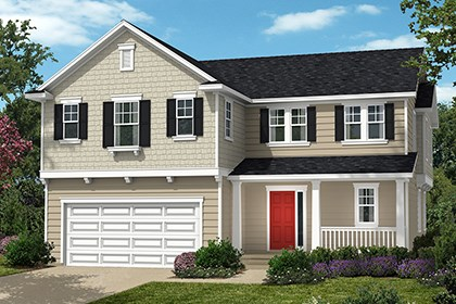 New Homes in Waldorf, MD - Plan 2302 - Elevation E