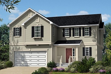 New Homes in Waldorf, MD - Plan 2302 - Elevation A