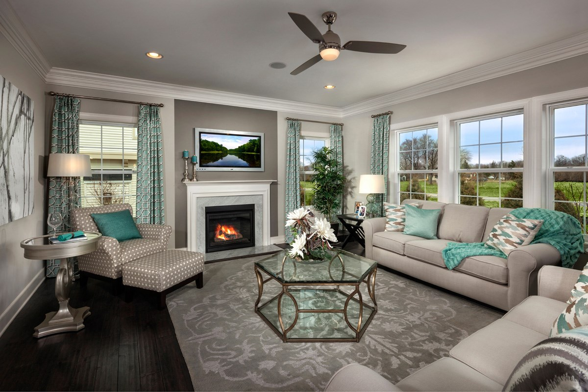 New Homes in Waldorf, MD - Stonewell 2691 Family Room