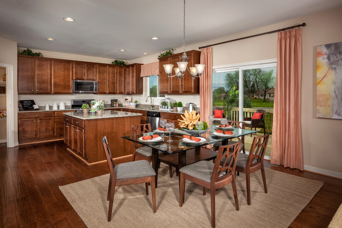 New Homes in Waldorf, MD - Stonewell 2302 Kitchen/Breakfast Room