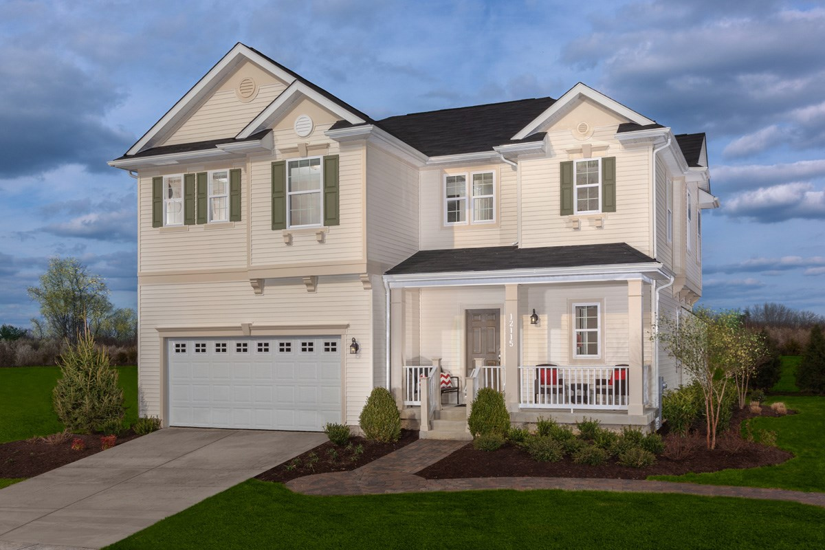 New Homes in Waldorf, MD - Stonewell 2302 Exterior