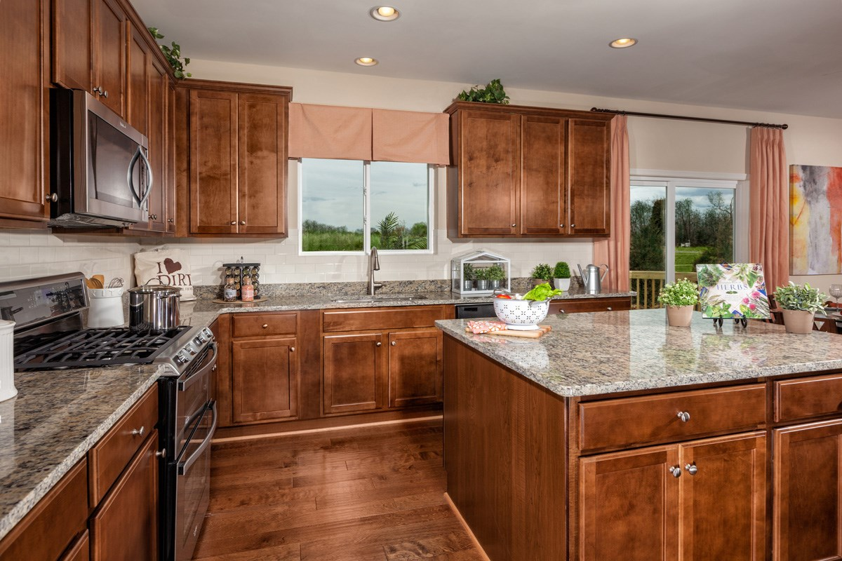 New Homes in Waldorf, MD - Stonewell 2302 Kitchen