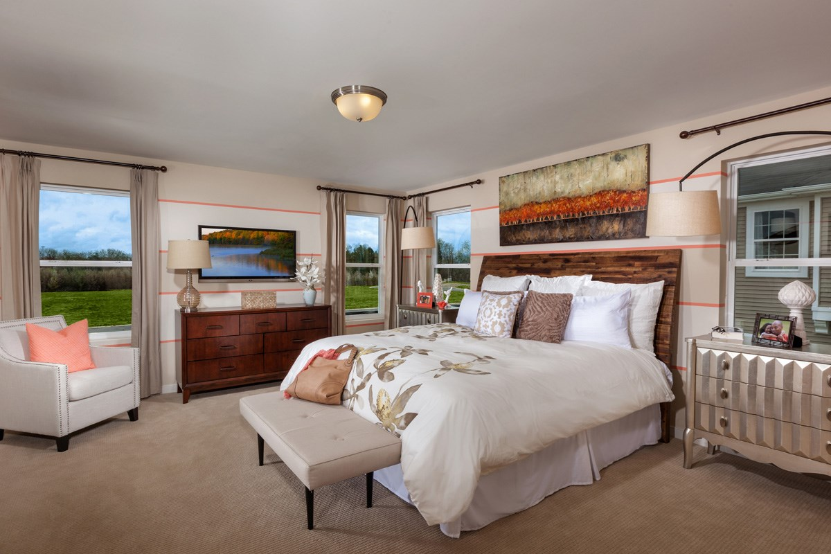 New Homes in Waldorf, MD - Stonewell 2302 Master Bedroom