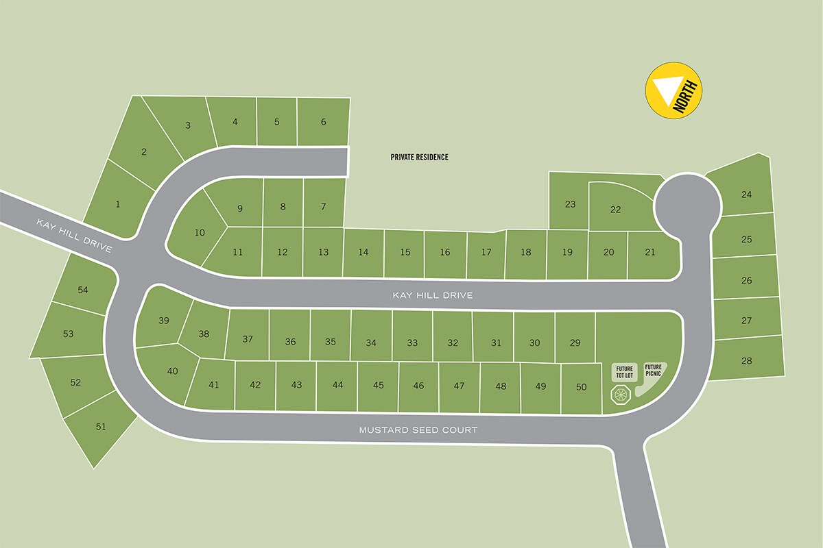 New Homes in Waldorf, MD - Stonewell Stonewell Site Plan