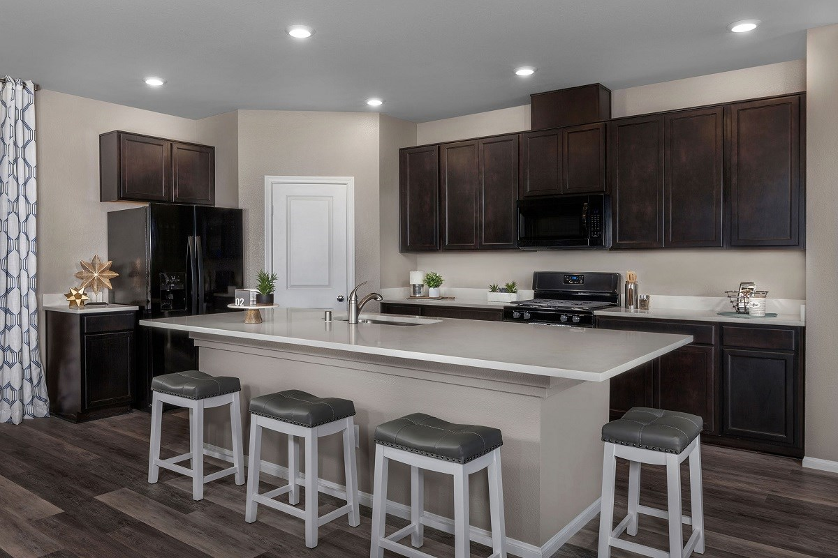 New Homes in Las Vegas, NV - Alder Landing Plan 2469 Kitchen