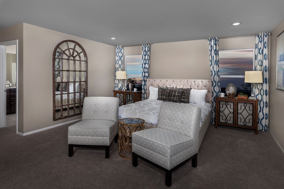 New Homes in Las Vegas, NV - Alder Landing Plan 2469 Master Bedroom