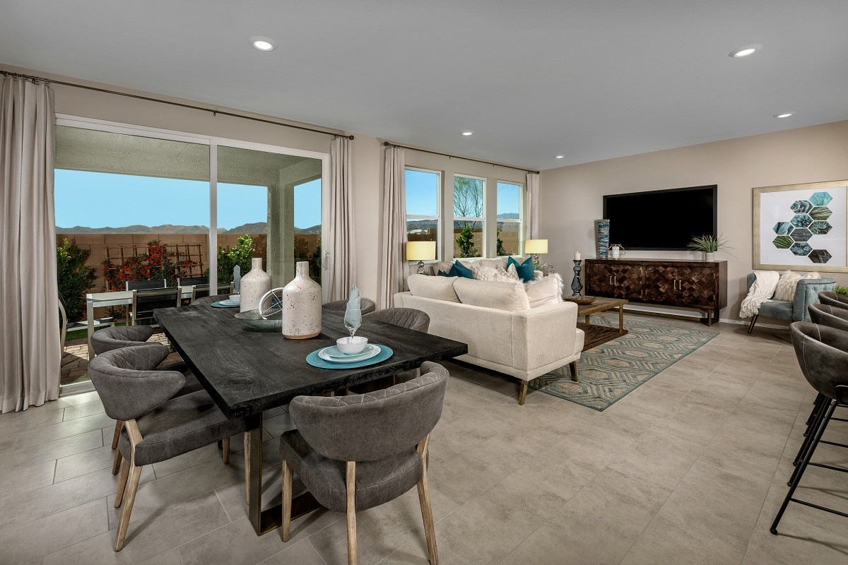 New Homes in Las Vegas, NV - Landings at Amizade Plan 2469 Greatroom