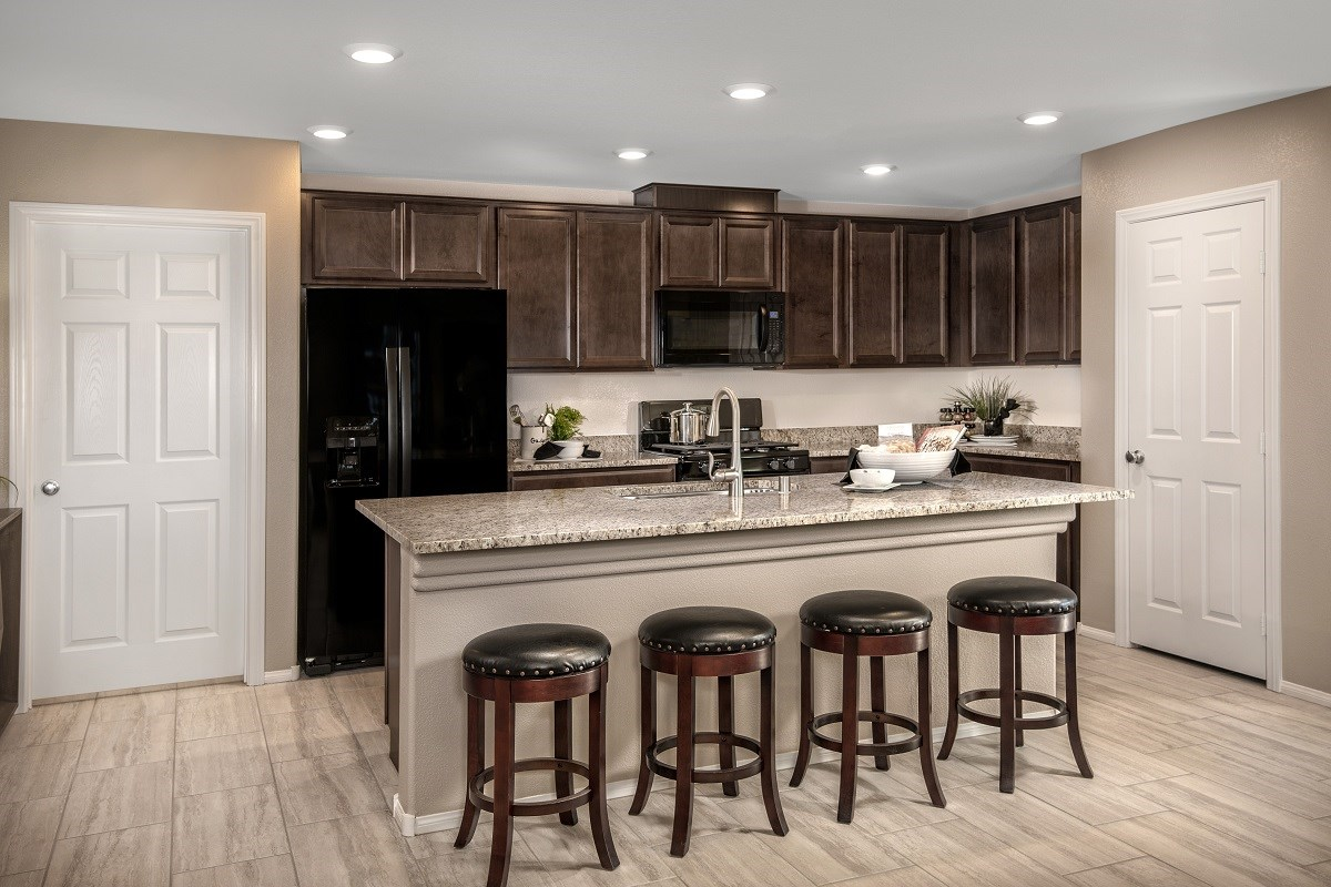 New Homes in Las Vegas, NV - Reserves at Amizade Plan 1849 Kitchen