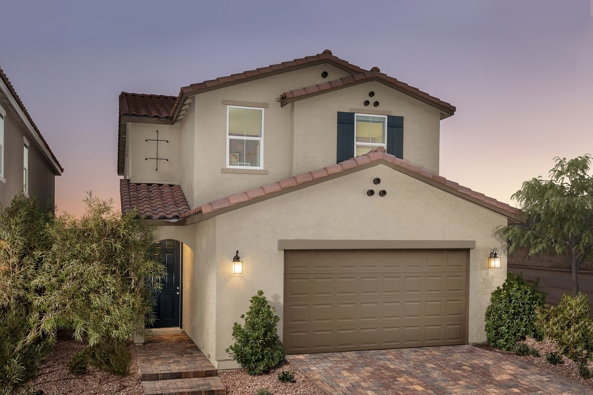 New Homes in Las Vegas, NV - Landings at Amizade Plan 2115 Modeled