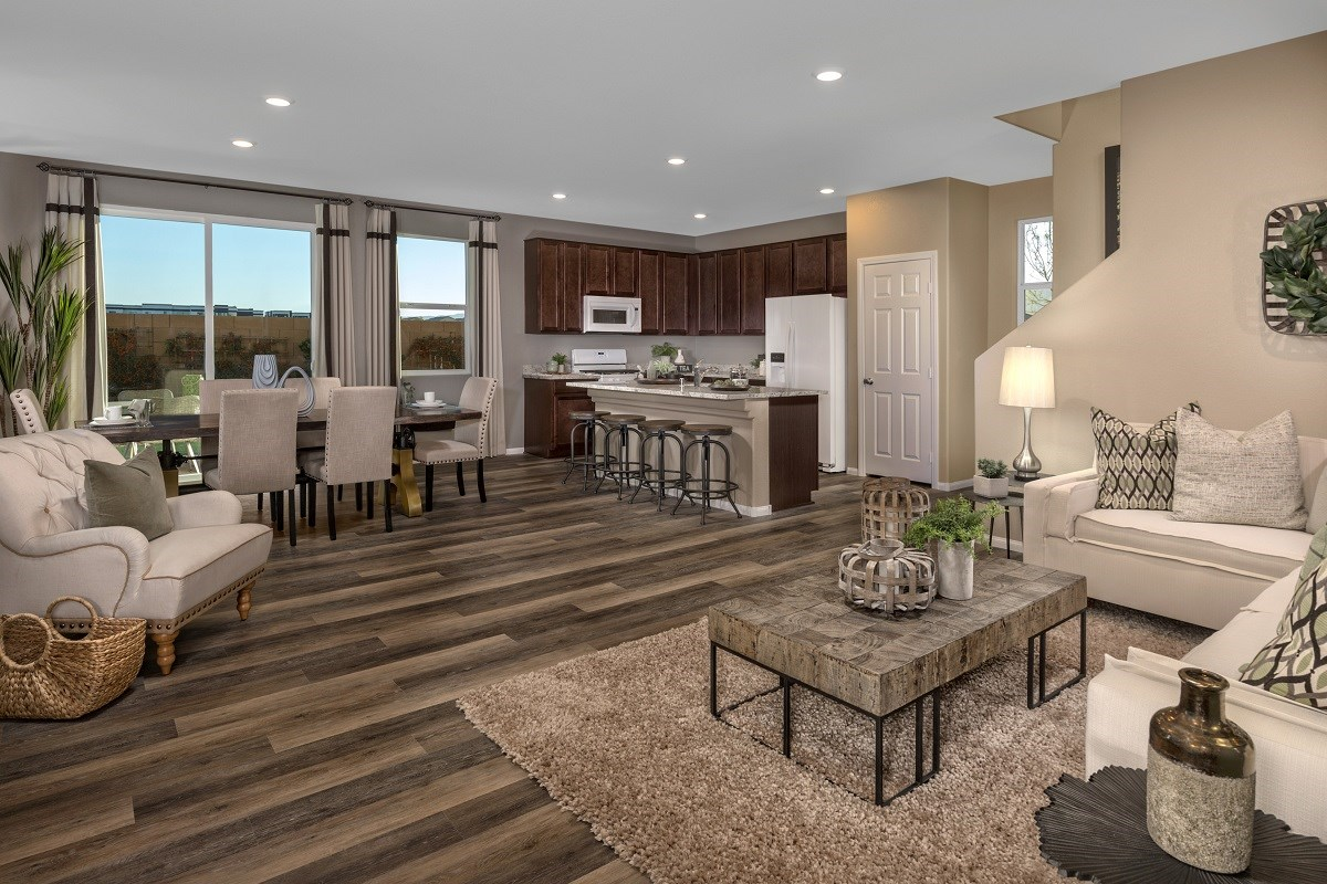 New Homes in Las Vegas, NV - Landings at Amizade Plan 2115 Great Room