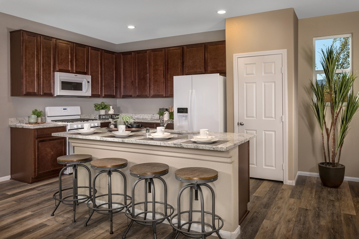New Homes in Las Vegas, NV - Landings at Amizade Plan 2115 Kitchen