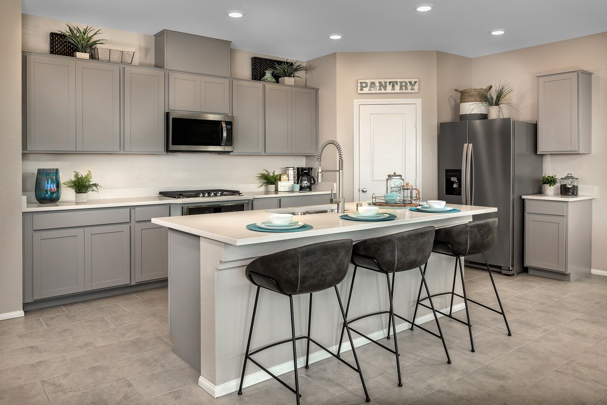 New Homes in Las Vegas, NV - Landings at Amizade Plan 2469 Kitchen