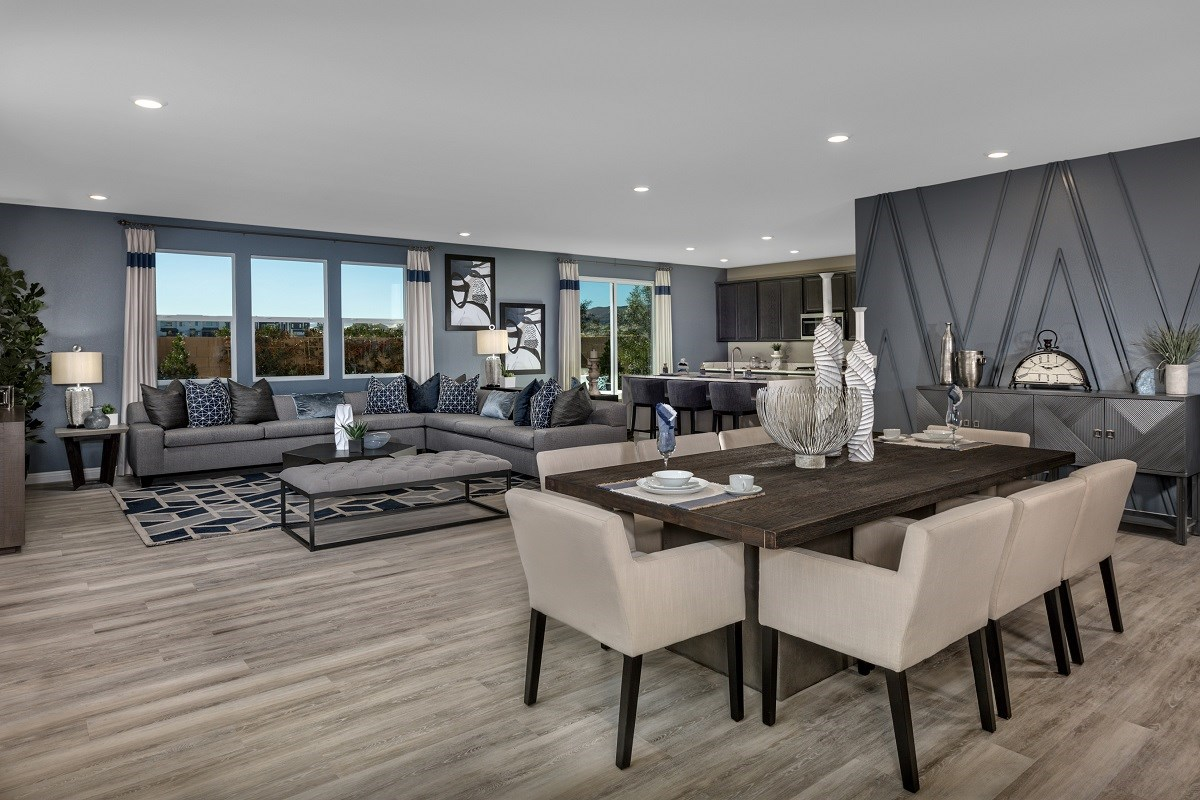 New Homes in Las Vegas, NV - Reserves at Amizade Plan 3059 Greatroom