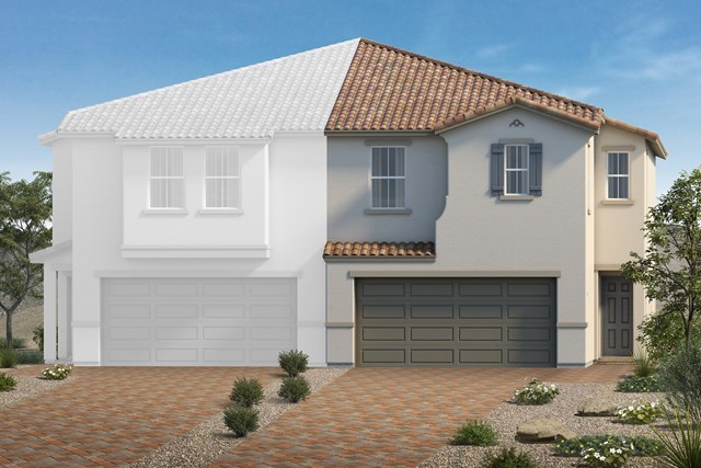 New Homes in North Las Vegas, NV - Elevation P