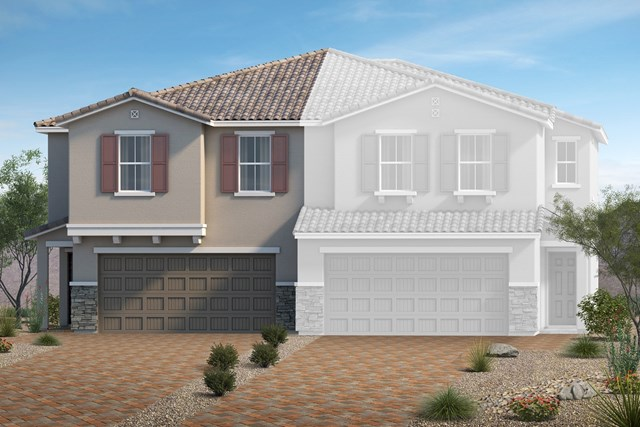 New Homes in North Las Vegas, NV - Elevation Q