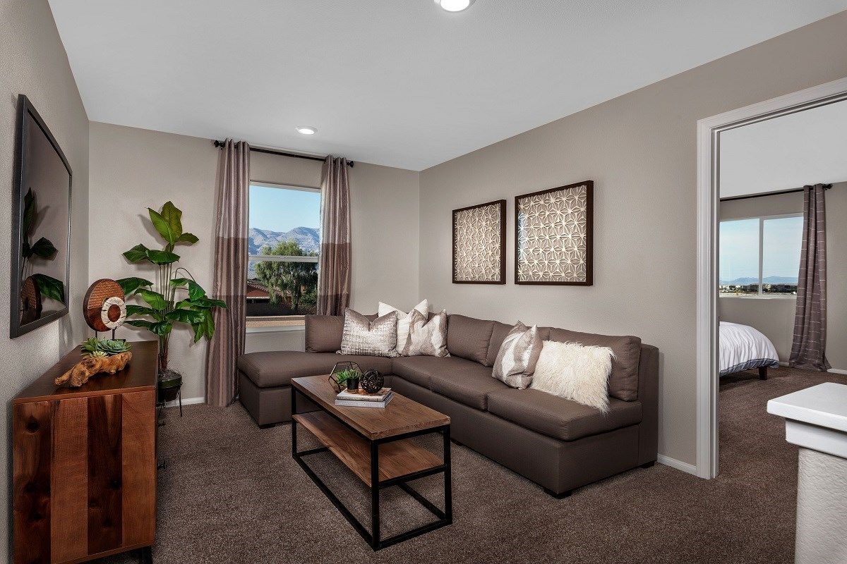 New Homes in North Las Vegas, NV - Aurora Heights Plan 1644 Loft