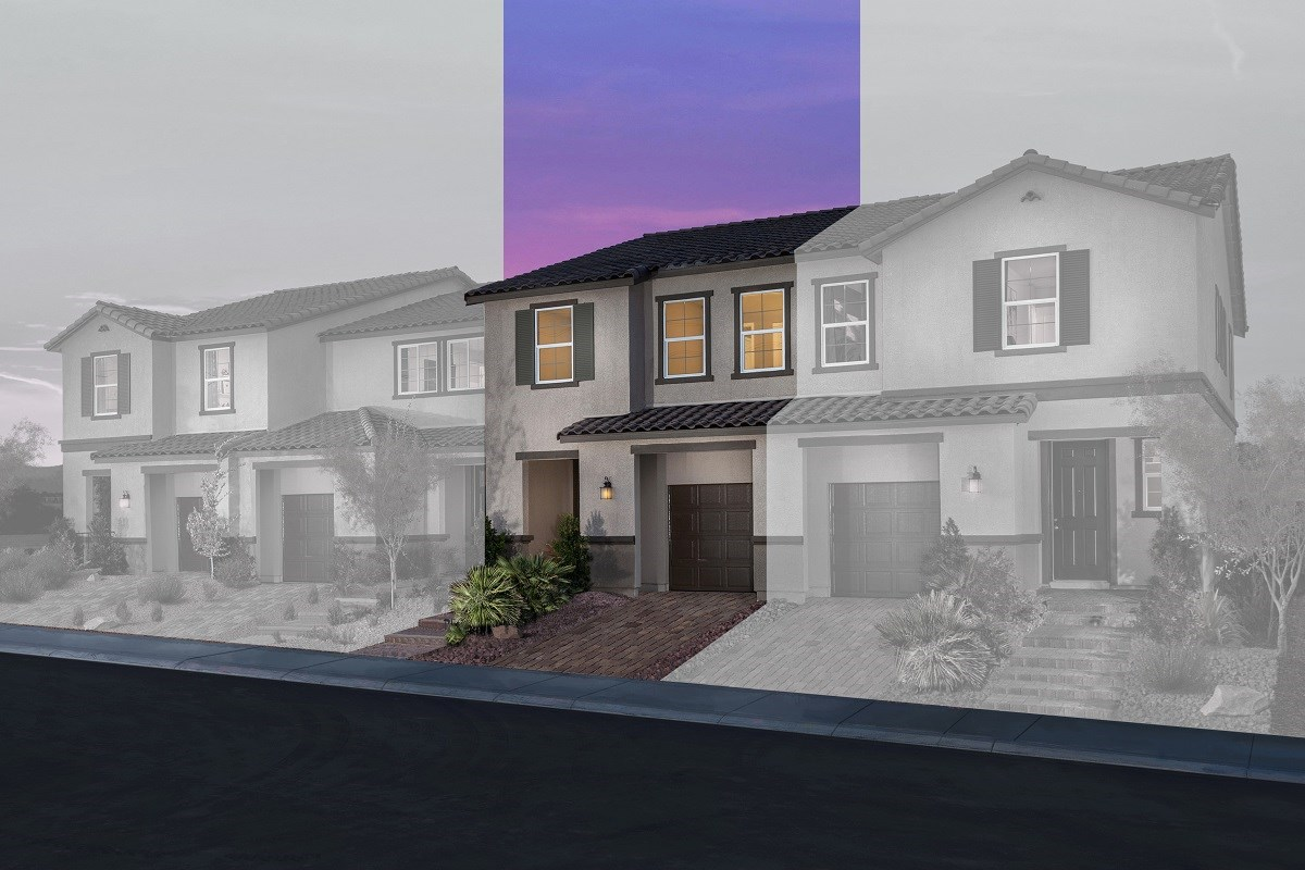 New Homes in Las Vegas, NV - Autumn Winds Plan 1673 Interior Unit