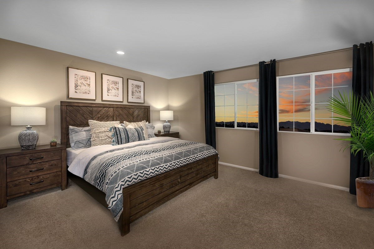 New Homes in Las Vegas, NV - Autumn Winds Plan 1497 Master Bedroom 2