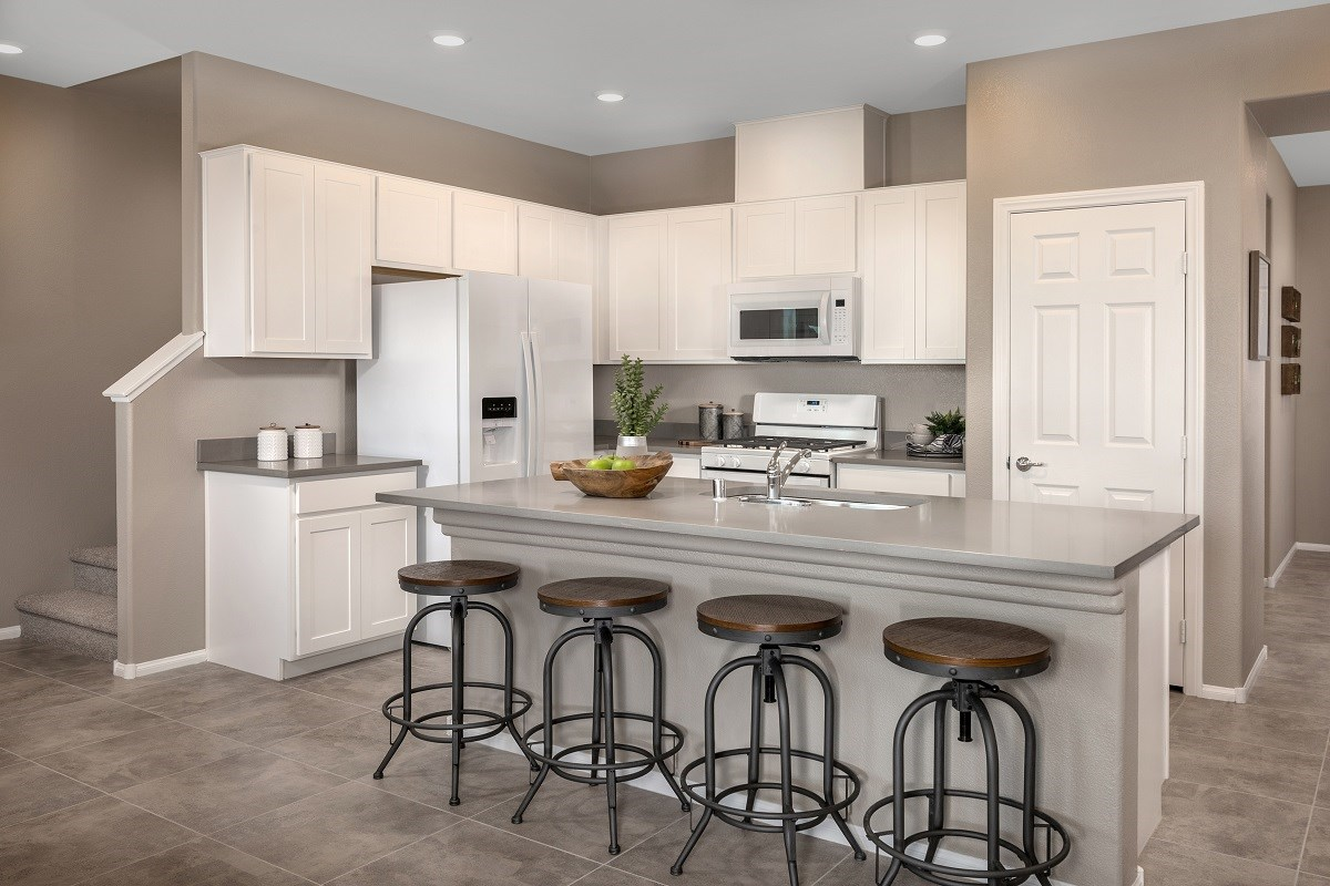 New Homes in Las Vegas, NV - Autumn Winds Plan 1673 Interior Unit Kitchen