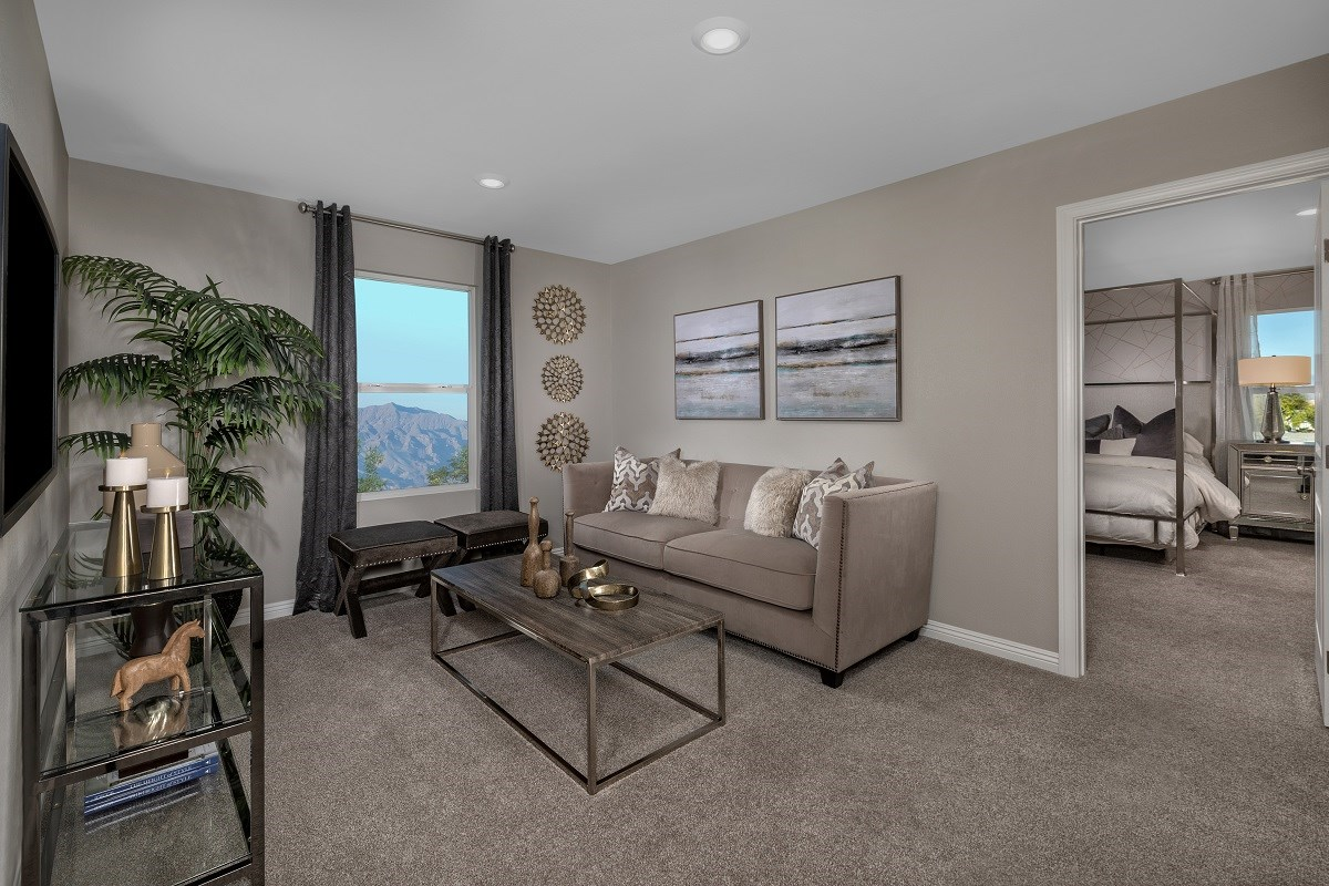 New Homes in Las Vegas, NV - Autumn Winds Plan 1673 End Unit Loft