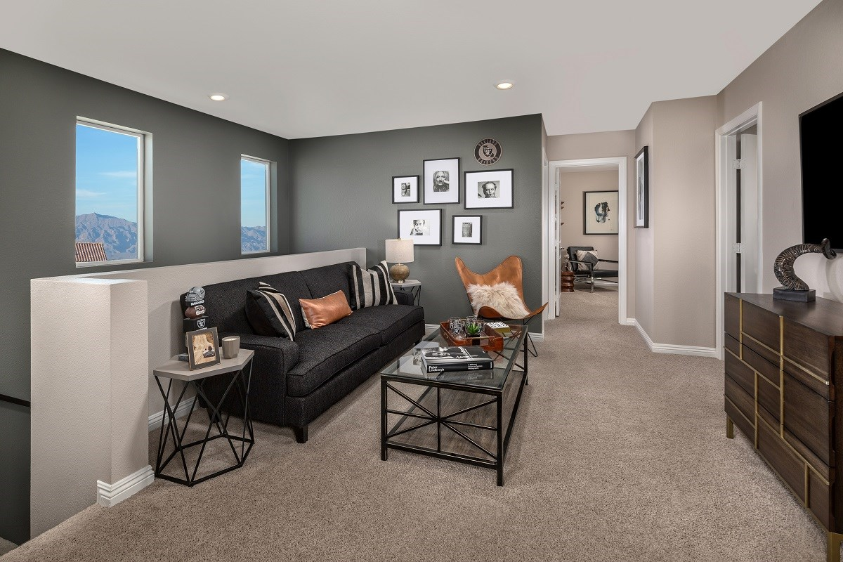 New Homes in Las Vegas, NV - Autumn Winds Plan 1713 End Unit Loft