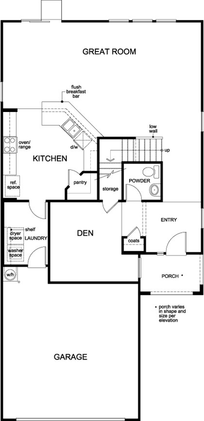 Plan New Home Floor Plan In AveryAddison By KB Home - Las vegas floor plans