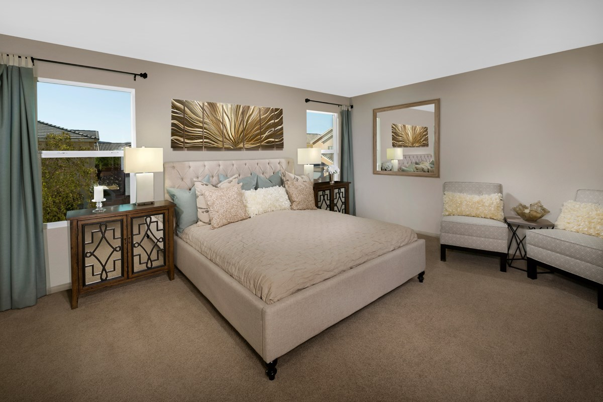 New Homes in Las Vegas, NV - Avery-Addison Plan 1947 Master Bedroom