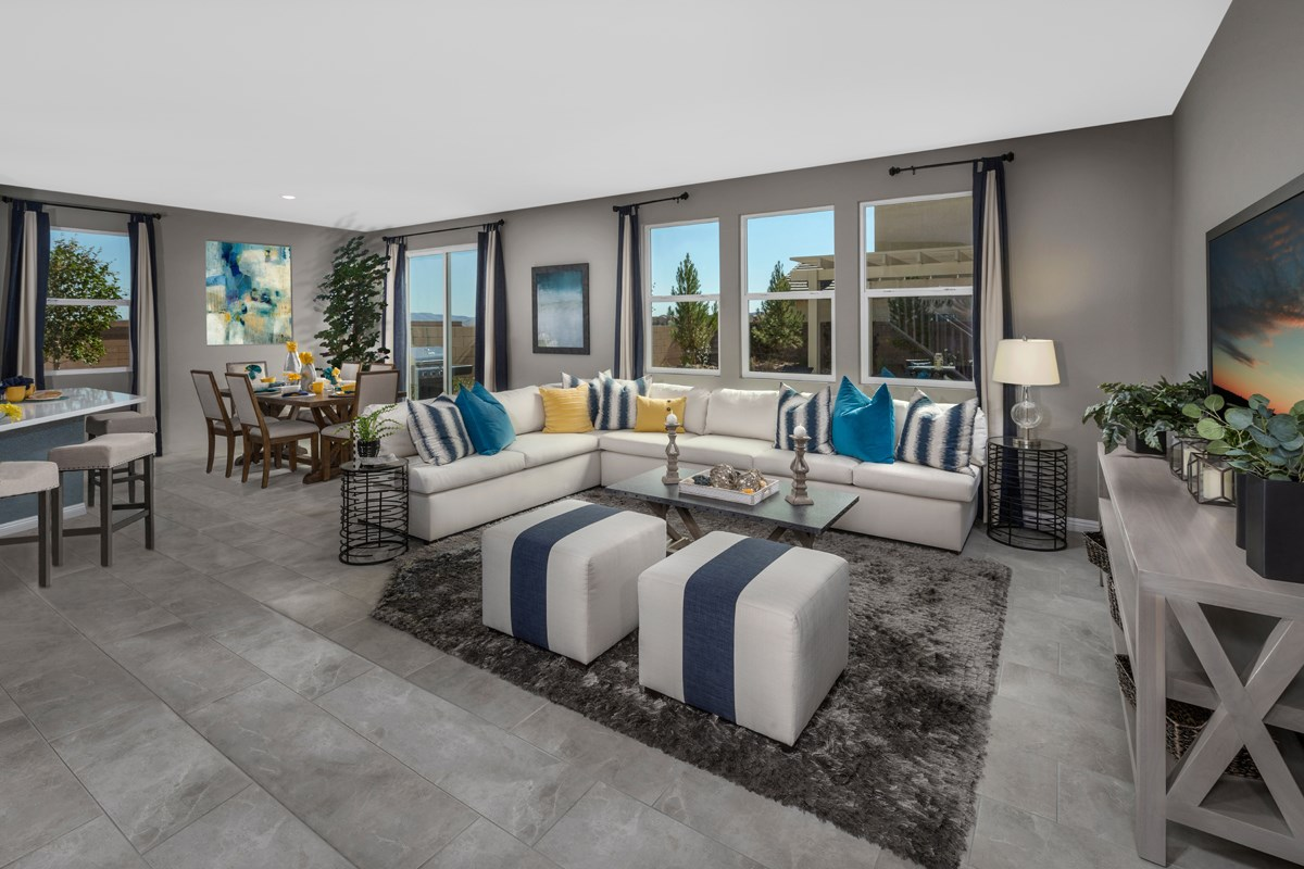 New Homes in Las Vegas, NV - Avery-Addison Plan 2547 Great Room