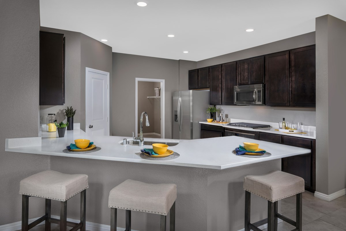 New Homes in Las Vegas, NV - Avery-Addison Plan 2547 Kitchen