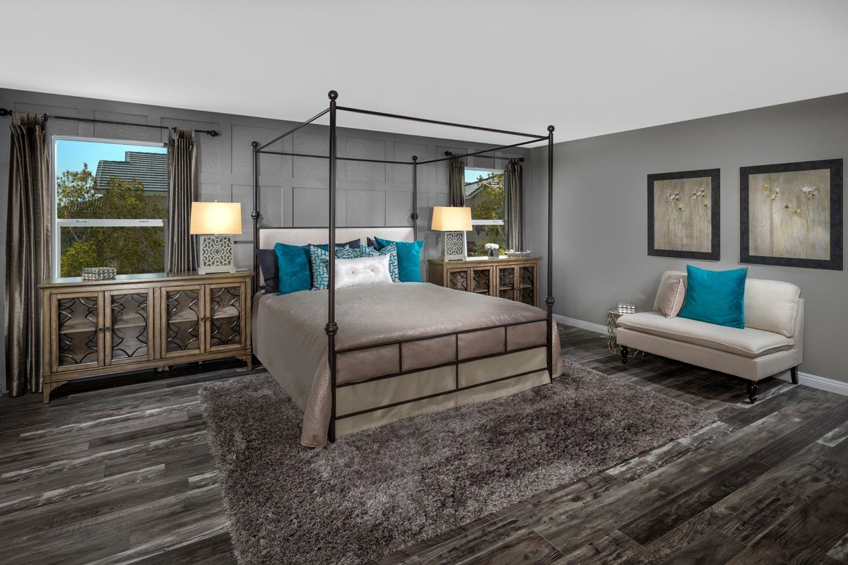 New Homes in Las Vegas, NV - Avery-Addison Plan 2547 Master Bedroom