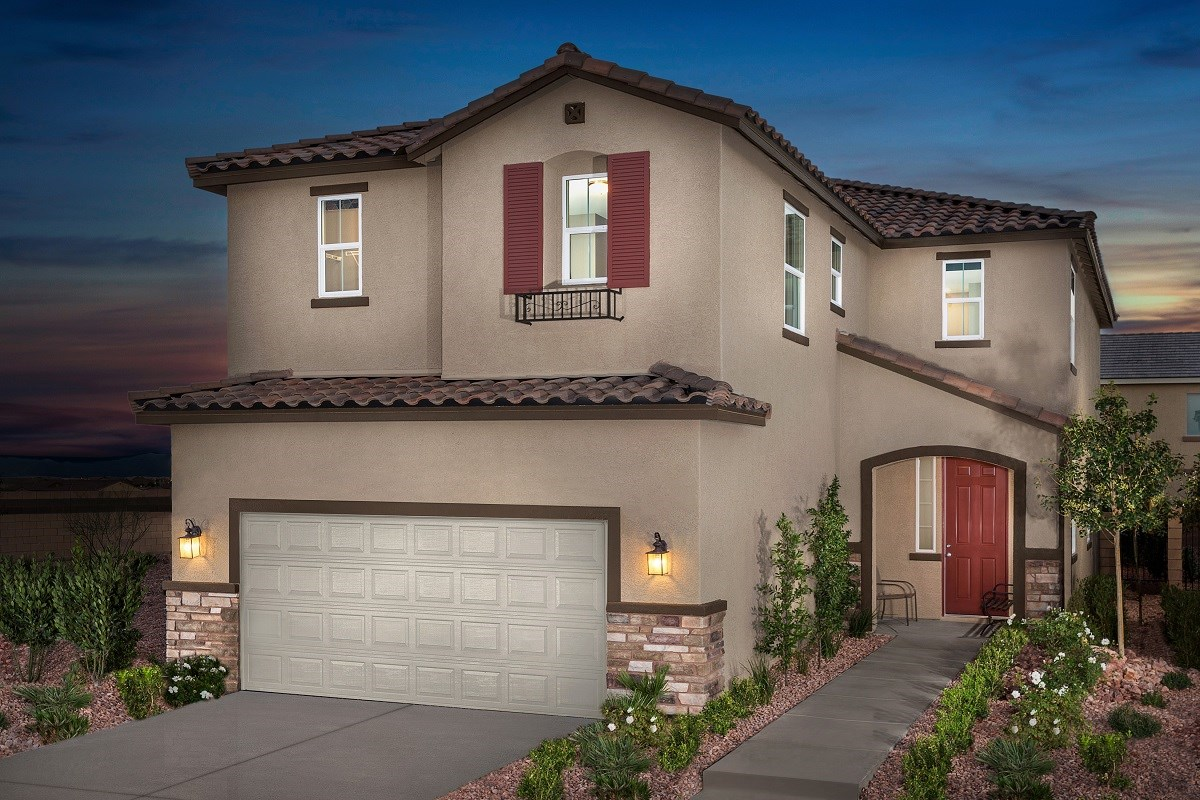 New Homes in Las Vegas, NV - Avery-Addison Plan 2547 Modeled