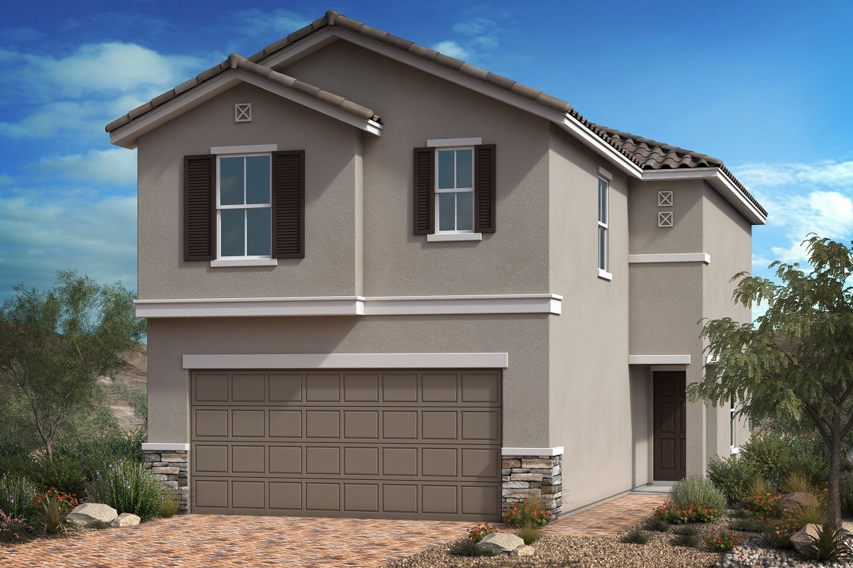 New Homes in Las Vegas, NV - Bellazo Plan 1657