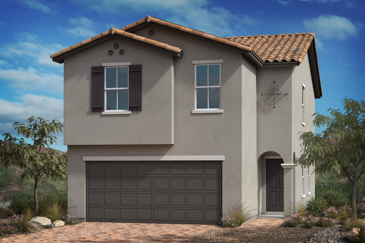New Homes in Las Vegas, NV - Bellazo Plan 1855