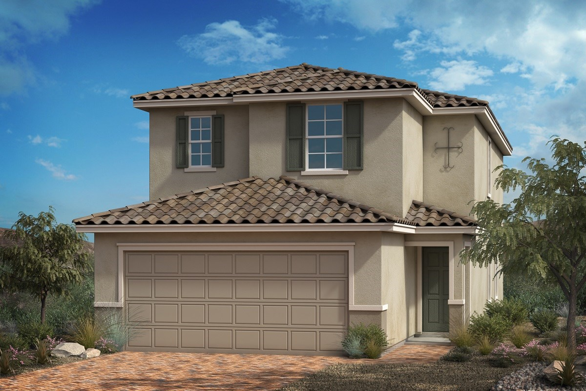 New Homes in Las Vegas, NV - Bellazo Plan 2115