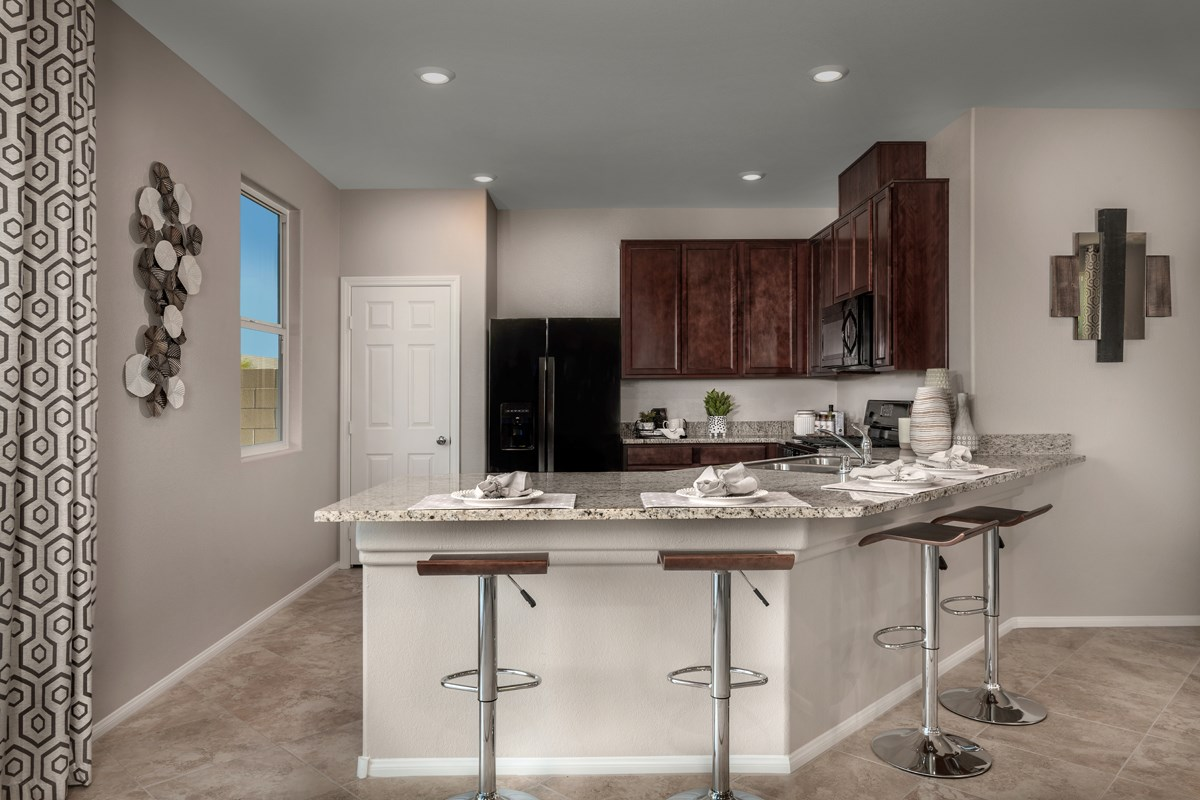 New Homes in Las Vegas, NV - Bellazo Plan 2115 Kitchen