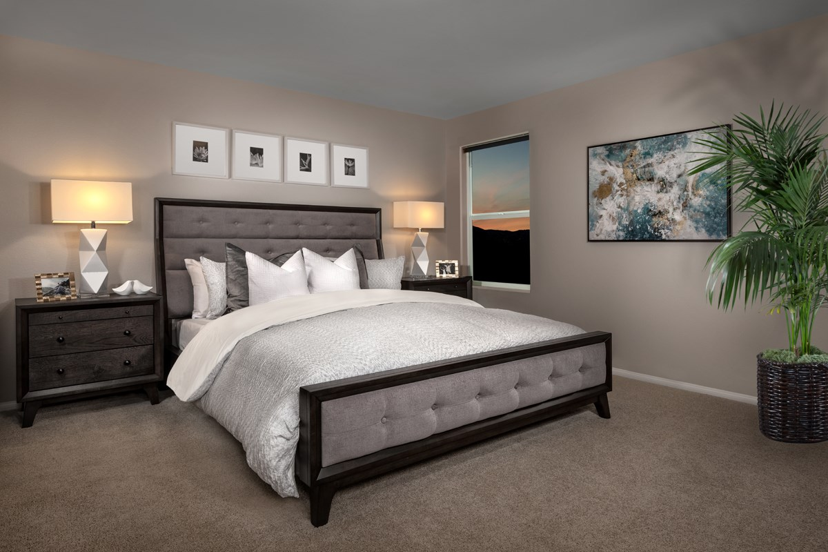 New Homes in Las Vegas, NV - Bellazo Plan 2115 Master Bedroom