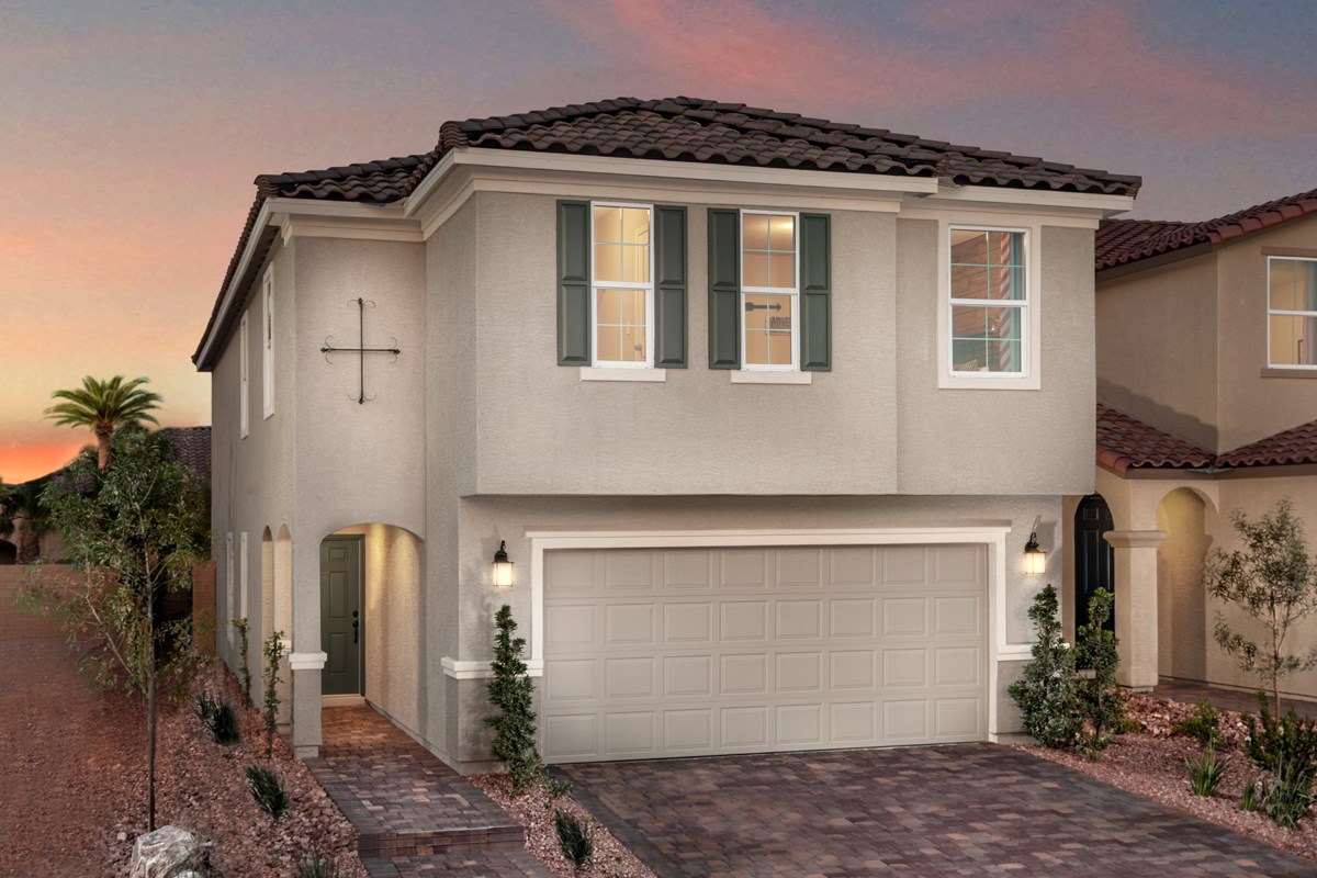 New Homes in Las Vegas, NV - Bellazo Plan 2469 Modeled