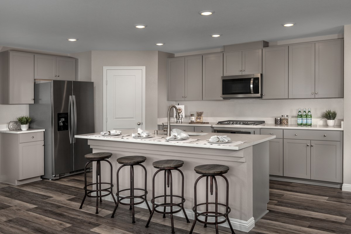 New Homes in Las Vegas, NV - Bellazo Plan 2469 Kitchen