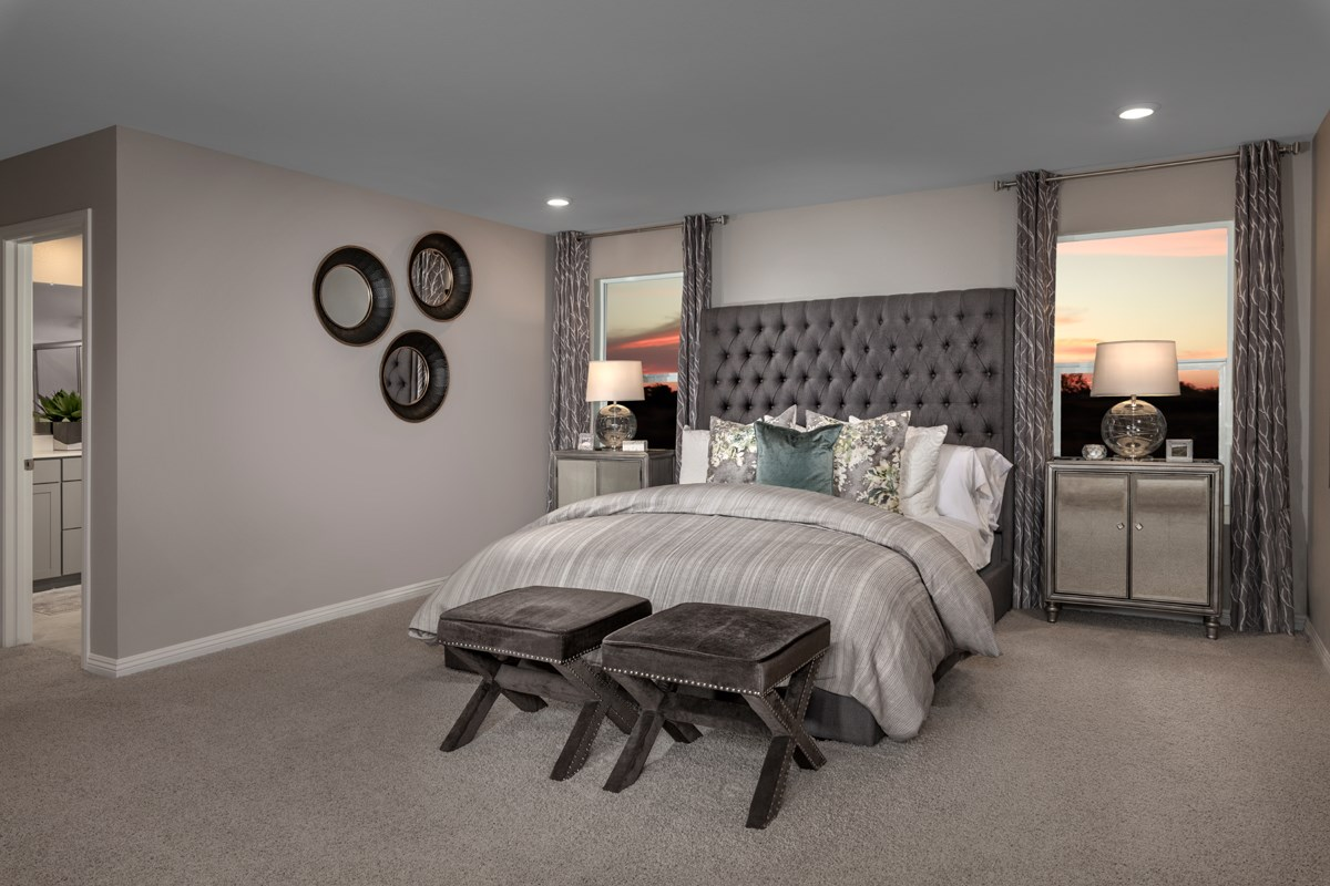 New Homes in Las Vegas, NV - Bellazo Plan 2469 Master Bedroom