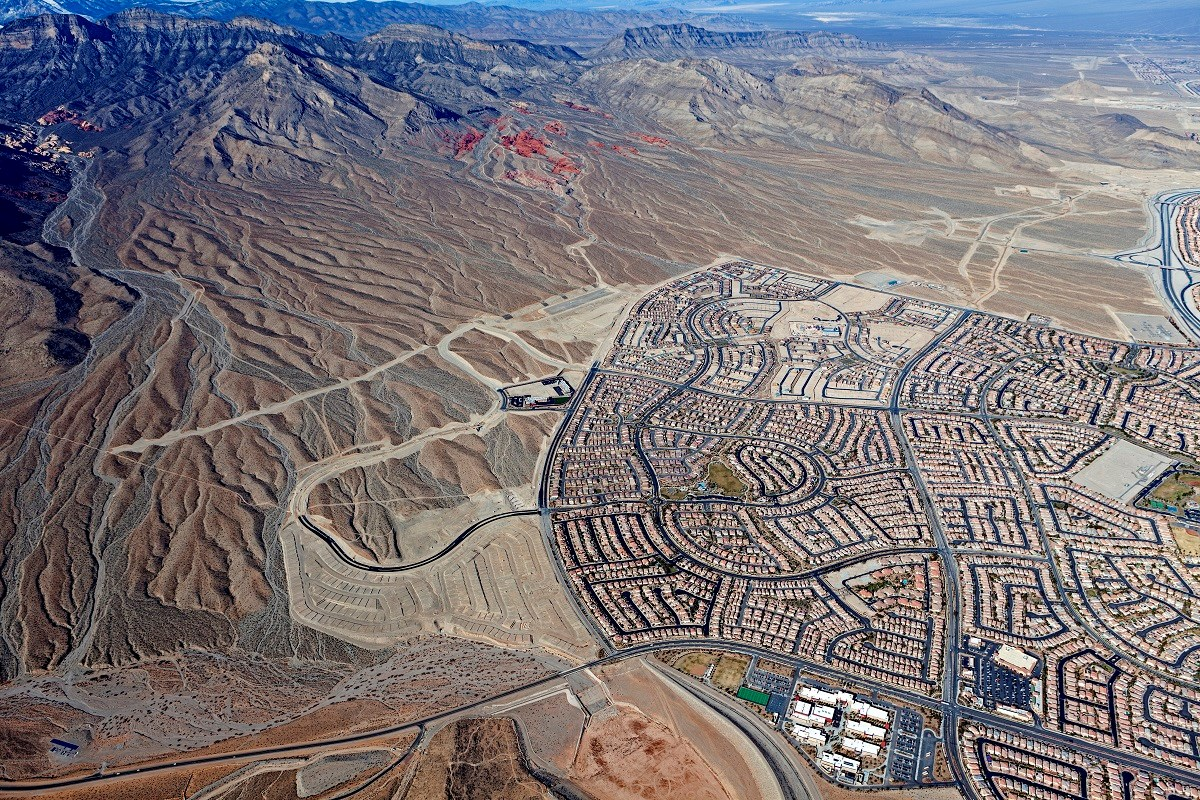 New Homes in Las Vegas, NV - Caledonia at Summerlin Caledonia Aerial View