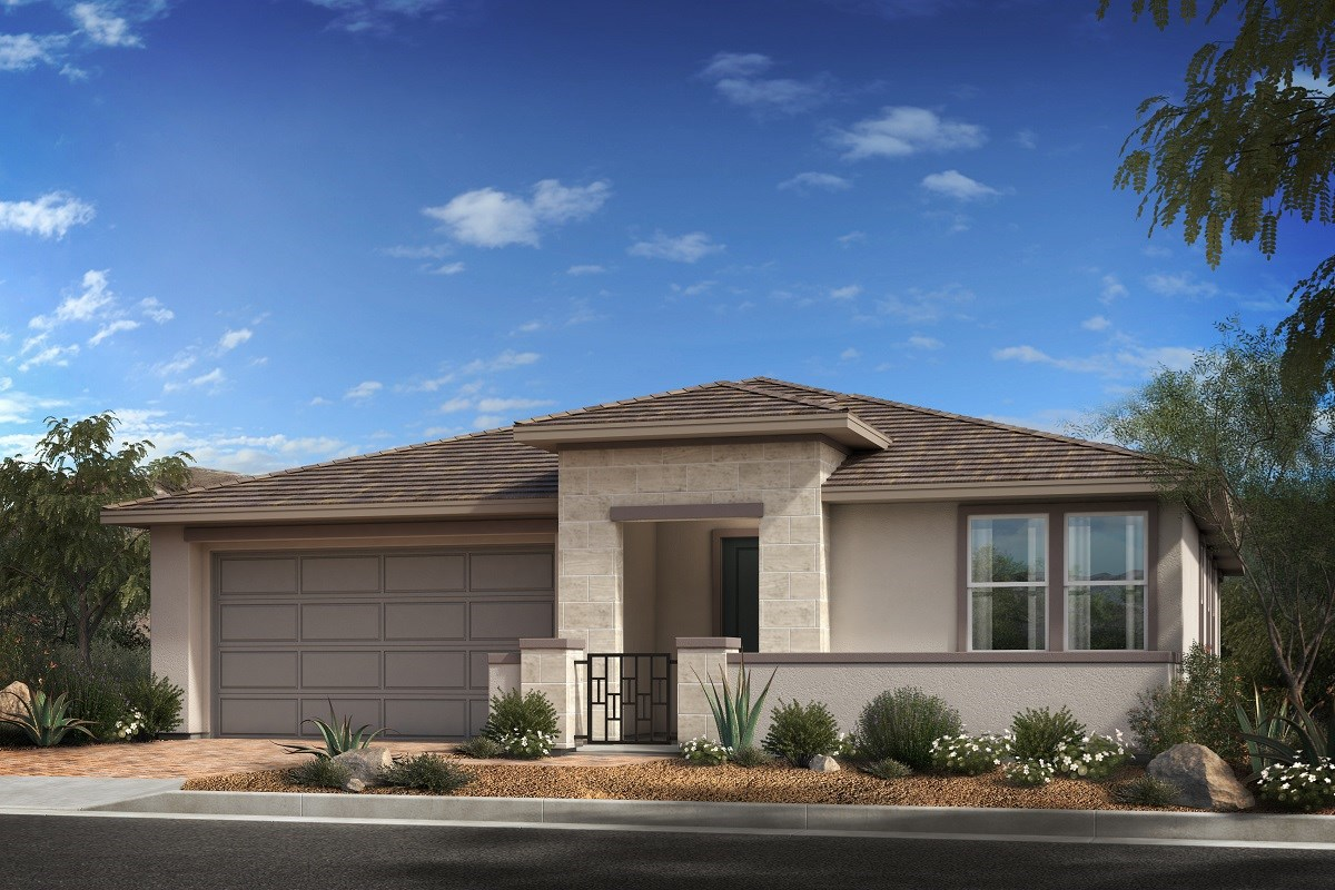New Homes in Las Vegas, NV - Caledonia at Summerlin - Collection II Plan 1850